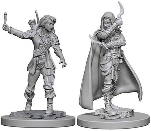 Pathfinder Deep Cuts: Unpainted Miniature Figures - Human Female Rogue image
