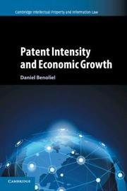 Cambridge Intellectual Property and Information Law: Series Number 38 by Daniel Benoliel
