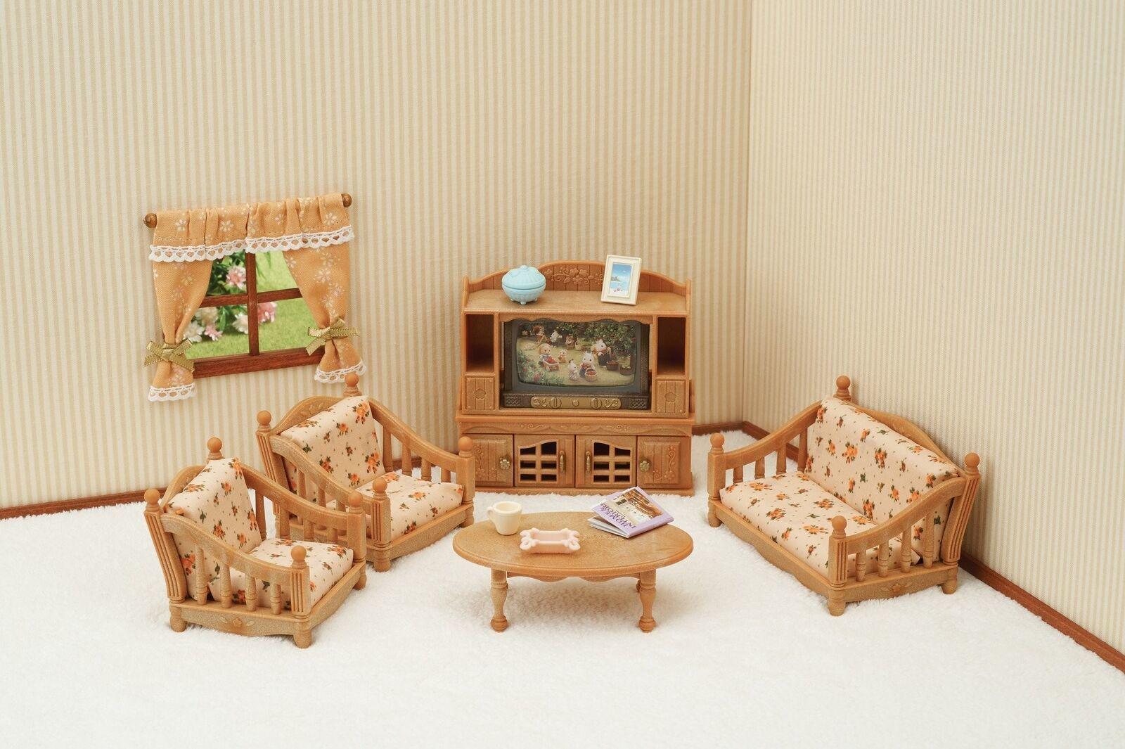 Sylvanian Families - Comfy Living Room Set image