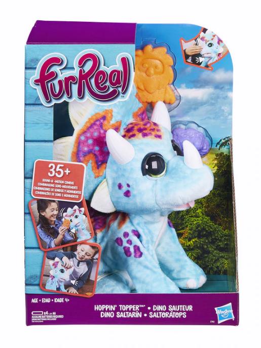 Furreal Friends: Hoppin Topper - Interactive Dinosaur Pet image