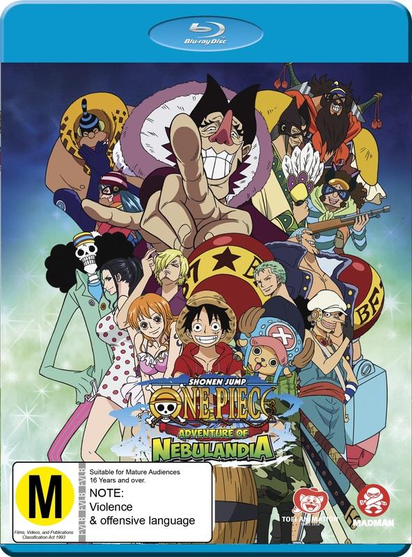 One Piece: Adventure of Nebulandia on Blu-ray