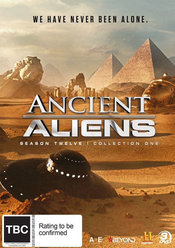 Ancient Aliens: Season 12: Collection 1 on DVD