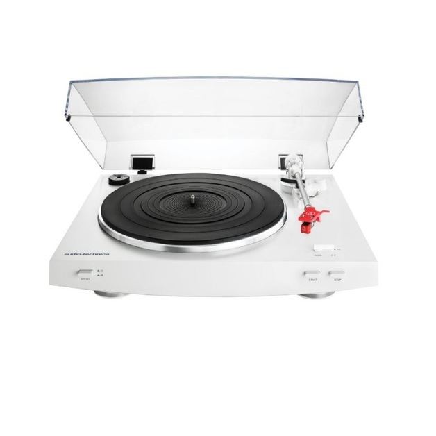Audio-Technica AT-LP3 Fully Automatic Belt-Drive Stereo Turntable - White