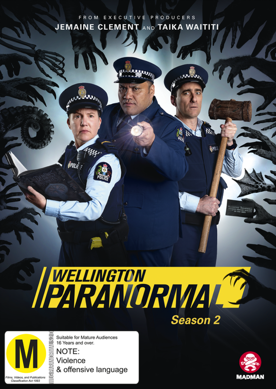 Wellington Paranormal - Season 2 on DVD