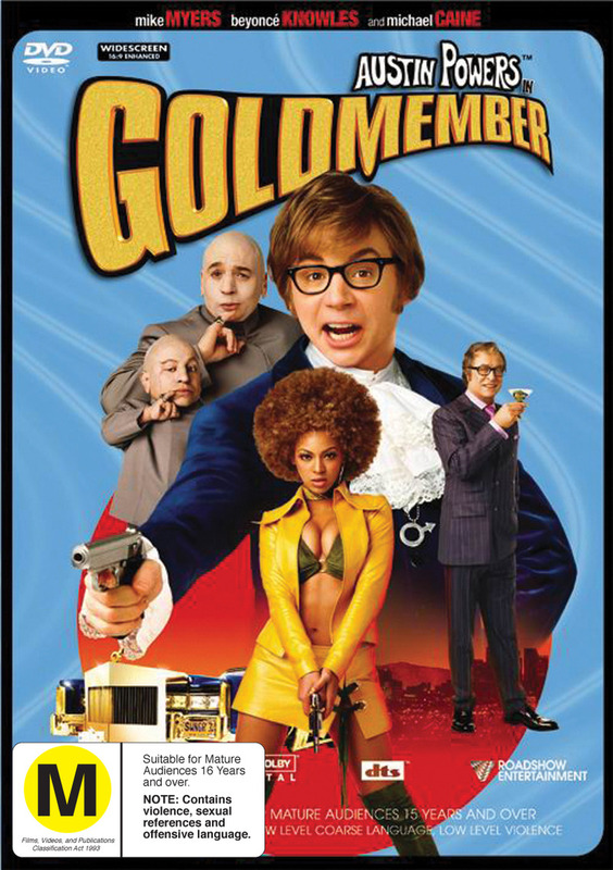 Austin Powers - Goldmember on DVD