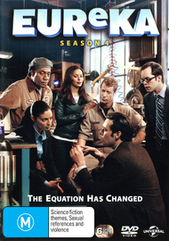 Eureka - Season 4 on DVD image