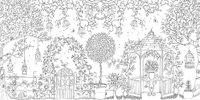 Secret Garden: An Inky Treasure Hunt and Colouring Book by Johanna Basford image
