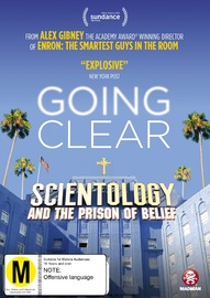 Going Clear: Scientology And The Prison Of Belief on DVD image