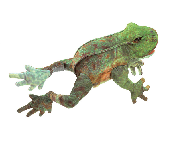 Folkmanis Hand Puppet - Jumping Frog