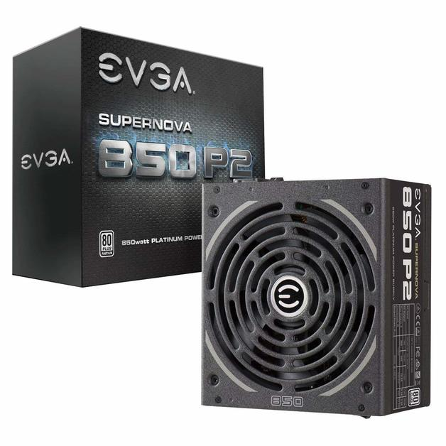 EVGA SuperNOVA 850 P2 850W 80+ Platinum Full Modular Power Supply