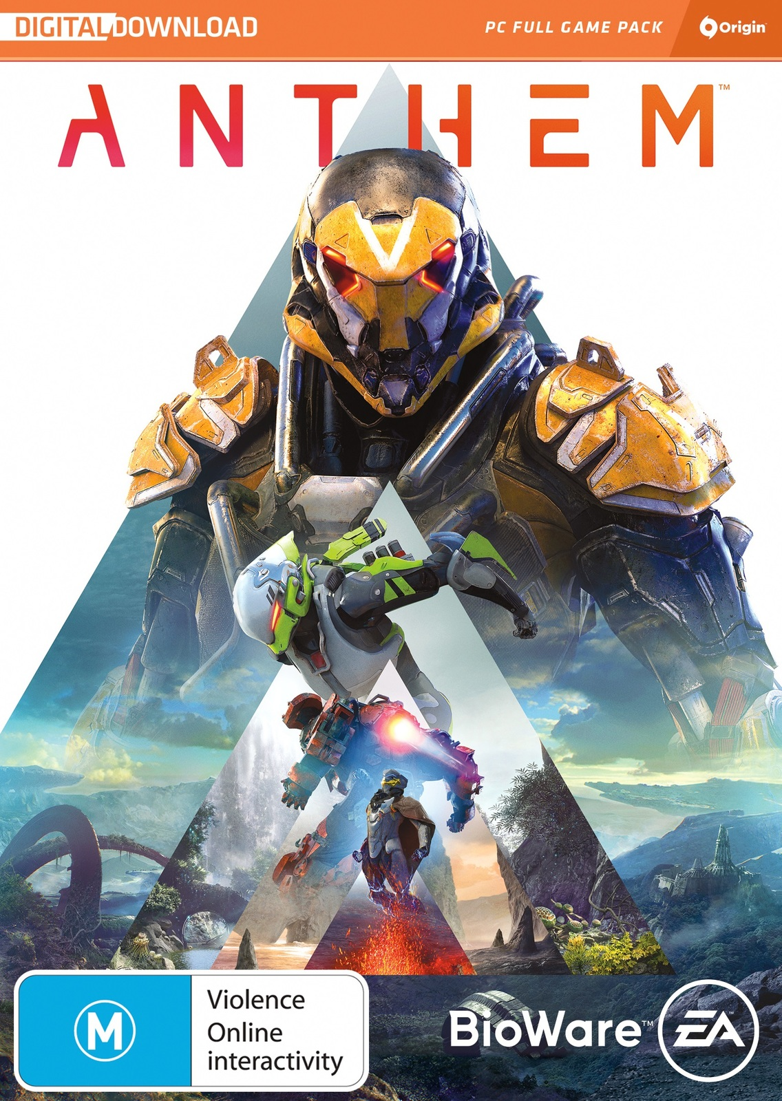 Anthem (code in box) for PC image