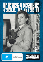Prisoner - Cell Block H: Vol. 18 - Episodes 273-288 (4 Disc Set) on DVD