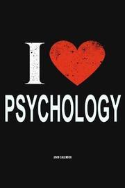 I Love Psychology 2020 Calender by Del Robbins image