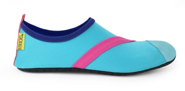 Fitkicks: Foldable Active Footwear - Blue (Large)