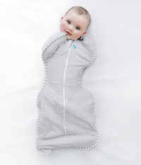 Love to Dream: Swaddle Up - Zip-Up Swaddle - Bamboo Wave Dot (Small)