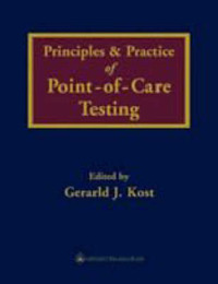Principles and Practice of Point of Care Testing by Gerald J. Kost image