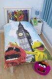 Muppets Postcard Single Duvet Set