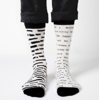 Out Of Print: Banned Books - Women's Crew Sock