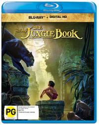 The Jungle Book on Blu-ray