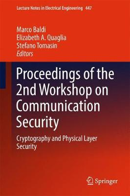 Proceedings of the 2nd Workshop on Communication Security image