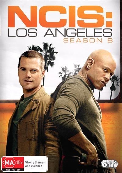 NCIS: Los Angeles: The Eighth Season on DVD image