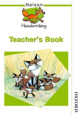 Nelson Handwriting Teacher's Book by Anita Warwick image