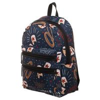 DC Comics: Wonder Woman - Double Zip Backpack