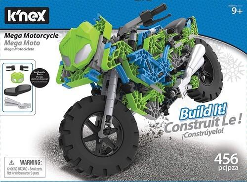 K'Nex: Mega Motorcycle - Building Set (475pc)