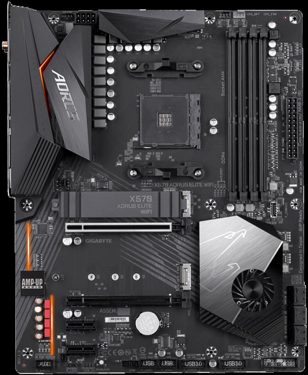 Gigabyte X570 Aorus Elite Wifi AMD Motherboard