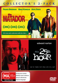 Matador, The / 25th Hour - Collector's 2-Pack (2 Disc Set) on DVD image