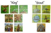 Carcassonne Expansion - King and Scout image