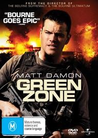 Green Zone on DVD