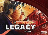 Pandemic Legacy - Red Box