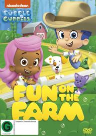 Bubble Guppies: Fun On The Farm on DVD