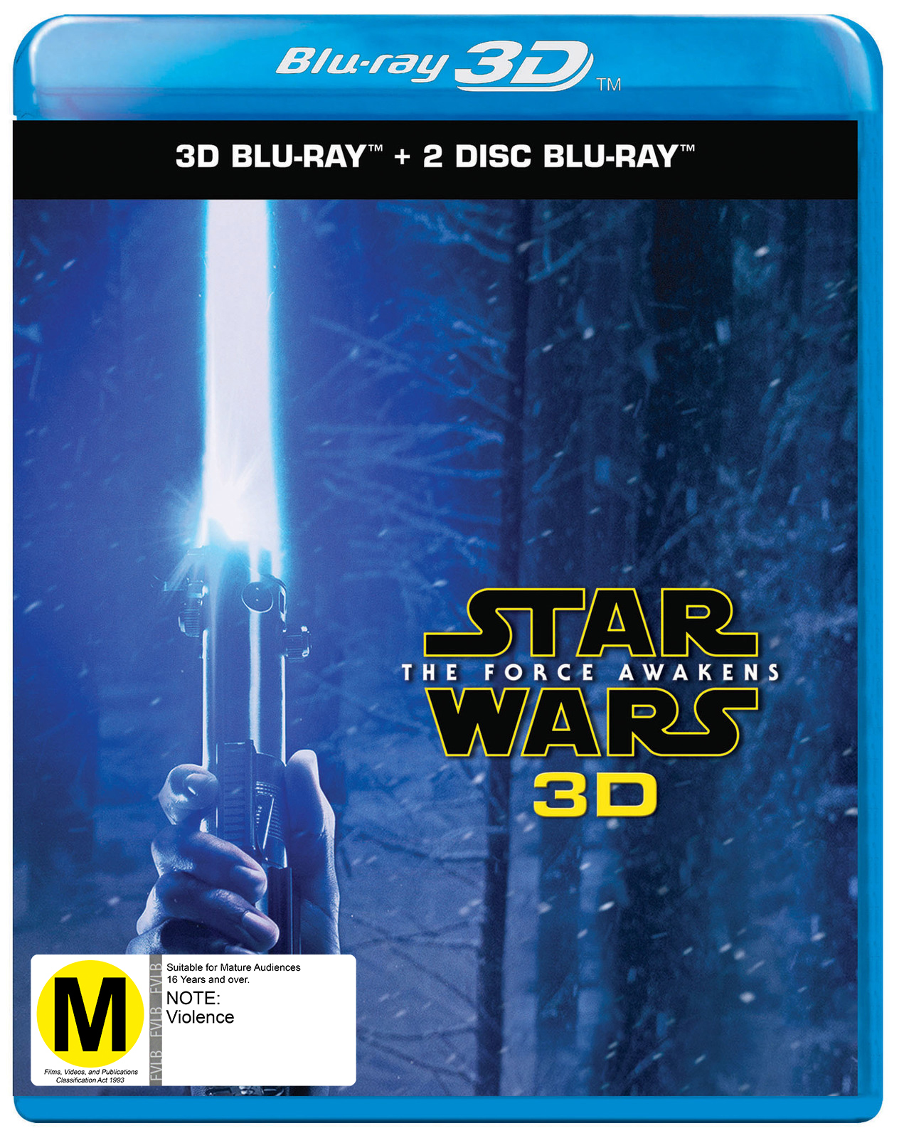 Star Wars: Episode VII - The Force Awakens on Blu-ray, 3D Blu-ray image