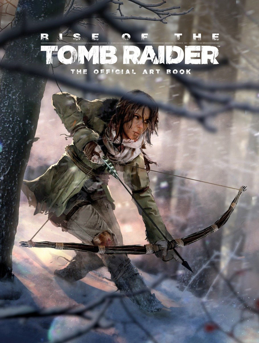 Rise of the Tomb Raider, The Official Art Book by Andy McVittie image
