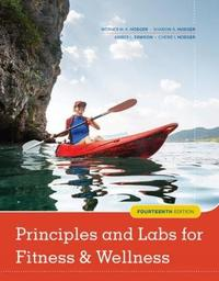 Principles and Labs for Fitness and Wellness by Cherie Hoeger image