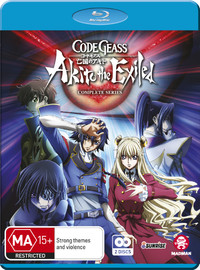 Code Geass: Akito The Exiled Complete Series on Blu-ray