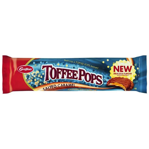 Griffin's ToffeePops Salted Caramel (200g)