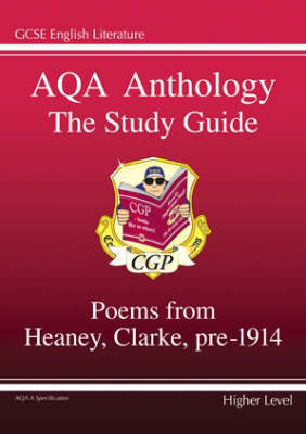 AQA Anthology the Study Guide by CGP Books image