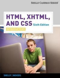 HTML, XHTML, and CSS by Gary B Shelly image