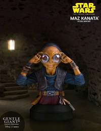 Star Wars: The Force Awakens - Maz Kanata Mini Bust