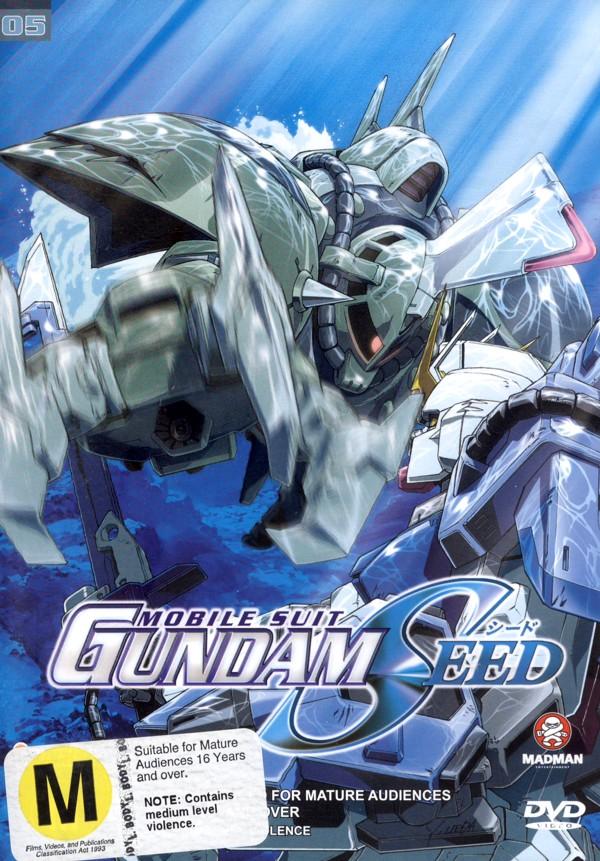 Gundam Seed - Vol 05 Archangel's Flight on DVD image
