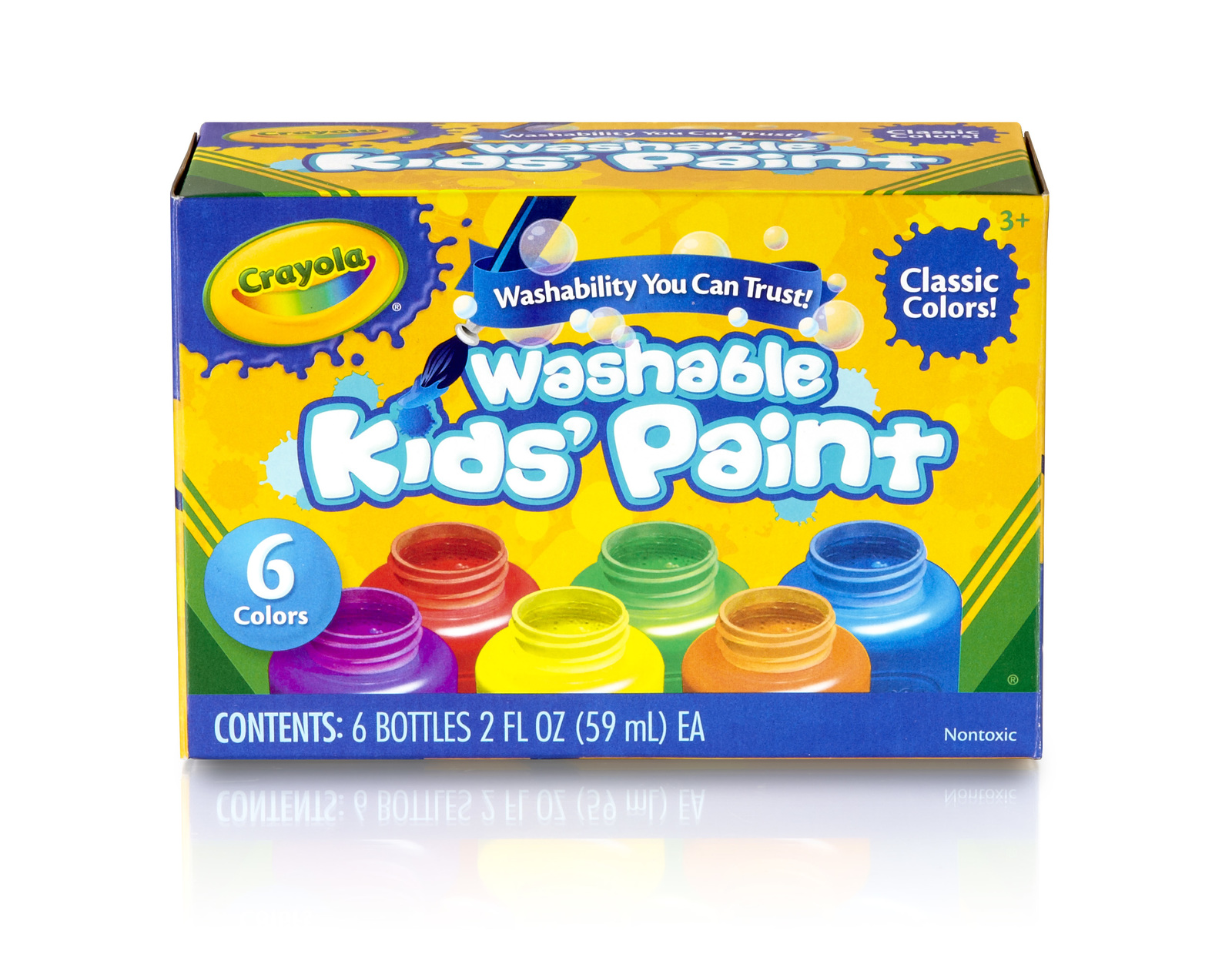 Crayola: Washable Paint Pack - 6 Colours image