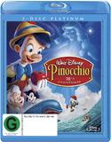 Pinocchio - 70th Anniversary: Platinum Edition on Blu-ray