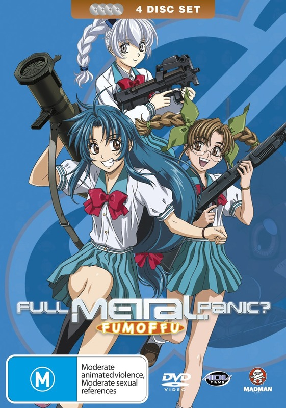 Full Metal Panic? Fumoffu - Complete Collection on DVD