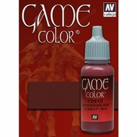 Vallejo Game Colour Scarlett Red 17ml