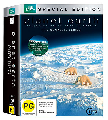Planet Earth: Special Edition Box Set on DVD image