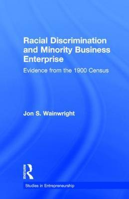 Racial Discrimination and Minority Business Enterprise by Jon S. Wainwright image