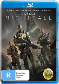 Halo: Nightfall on Blu-ray